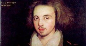 There are as many conspiracy theories about Christopher  Marlowe's death as there are about JFK's