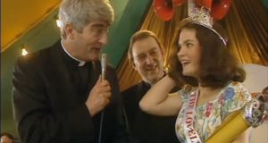 "The Lovely Girls contest in Father Ted. Such is the cultural currency of Father Ted that the Rose of Tralee is now commonly referred to as a real-life ""Lovely Girls"" contest. In his study of Irish beauty pageants, Fintan Walsh  coined the term ""homelysexuality"" to describe ""a domesticated, marketable and commercially profitable sexual accent, paradoxically devoid of eroticism"""