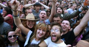 The fact that festivals have entered the mainstream and taken such a hold over our summer discourse and media coverage is down to their transgressive past. Photograph: Kate Geraghty/The Irish Times