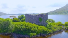 Beautiful drone footage of Lough Corrib filmed by 16 year-old