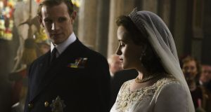 Claire Foy and Matt Smith star in 'The Crown', which will be added to Netflix in November. The pattern for historical dramas suggests it may have a slower 'binge' rate.