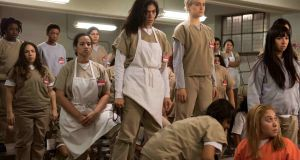 An image from the forthcoming fourth series of one of Netflix's most-hyped shows, 'Orange Is The New Black'