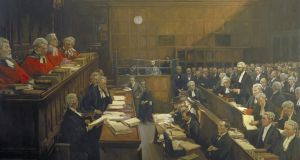 High Treason: The Appeal of Roger Casement. The Court of Criminal Appeal, 17 and 18 July 1916 by John Lavery