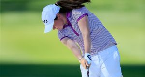 Leona Maguire: was ranked world number one amateur for almost a full year before being overtaken by Curtis Cup rival, the USA's Hannah O'Sullivan. Photograph: David Cannon/Getty Images