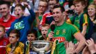 Meath's James Toher with the Christy Ring Cup. The final against Antrim will be replayed on June 18th. Photograph: Inpho