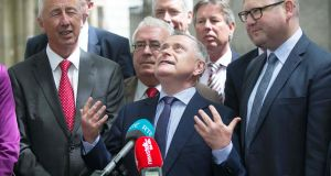 Labour Party leader Brendan Howlin: party has announced its new-look front bench.  Photograph: Gareth Chaney Collins