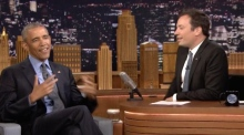 Obama tells Jimmy Fallon he's 'worried' about Republican party