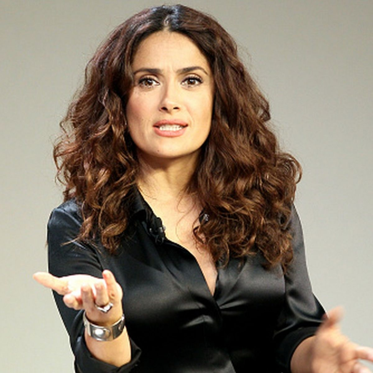 Angela Molina Sexy salma hayek: 'if i was a white man, i would be bigger than