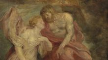 Detail from Sir Peter Paul Rubens's Venus and Jupiter, oil on oak panel, which is to be sold by the Alfred Beit Foundation to raise funds for the upkeep of the house.