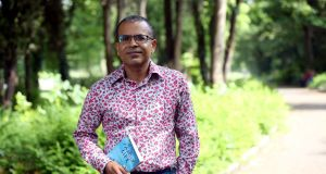 Akhil Sharma has been announced as the winner of the 2016 International Dublin Literary Award. Photograph: Jason Clarke