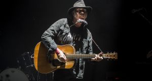Wilfully unpredictable: Neil Young. Photograph:   Ross Gilmore/Redferns