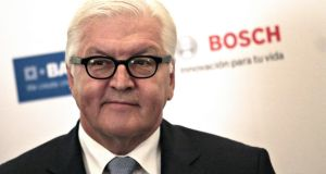 Germany's foreign minister Frank-Walter Steinmeier says a Brexit  would have serious consequences for the integrity of the European Union. Photograph: Pedro Pardo/AFP/Getty Images