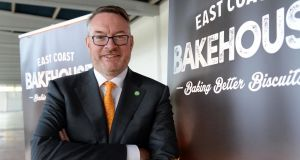 "Michael Carey, managing director of East Coast Bakehouse: ""By working together the food and drink industry has made good progress towards establishing a clear customer proposition for food and drink sourced from Ireland, building a reputational brand under the banner of Origin Green."" Photograph: Eric Luke"