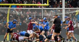 "AIG Fenway Hurling Classic, Dublin v Galway, in Fenway Park, Boston, last November: ""Anything related to Ireland, given the amount of Irish that live here, would make sense for us,"" says   FSG president Sam Kennedy. Photograph: Ray McManus"