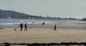 A beach  view at Portmarnock, Co Dublin.  Photograph: Dara Mac Dónaill/The Irish Times