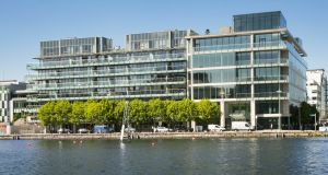 Docklands apartment with fine views for €600,000