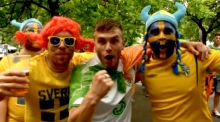 Ireland and Sweden lovefest at Euro 2016 opener