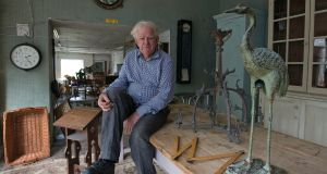 Antiques dealer John McGrane pictured in his Gormanston, Co Meath premises. Photograph: Dave Meehan