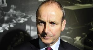 Fianna Fáil leader Micheál Martin: said there was €7 million in an offshore account, and there were allegations of fixers' fees. Photograph: Aidan Crawley