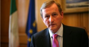 "Enda Kenny disregards opinion polls because the people answering them don't yet see ""just how profound the decision is"". Photograph: Dara Mac Dónaill"