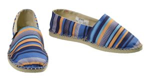 A new Havaianas outlet has just opened in Kildare Village where flip flops range in price from €18.14 up to €42.40 for a pair while these striped espadrilles are €22.75