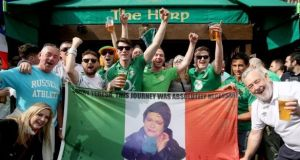 Watch the Irish fans in France brighten up everybody's day