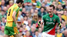 Mayo's Cillian O'Connor needs somebody to share the burden. Photograph: Inpho