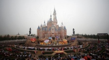 Disney's China fairytale begins with $5.5 billion park opening