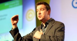 Former Storyful chief executive Mark Little is to take over as head of Twitter's Irish subsidiary on July 1st. Photo: Eric Luke/The Irish Times