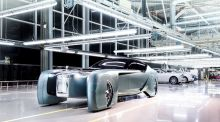 Rolls-Royce's vision of a self-driving future includes bespoke cars built to order