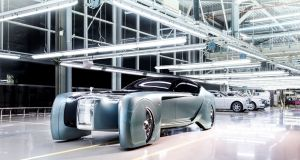 Rolls-Royce Vision Next 100: customers will get one-off, bespoke bodies and interiors based around fully developed, fully autonomous Rolls-Royce running gear.
