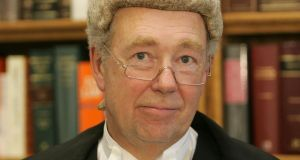 Former High Court president Mr Justice Nicholas Kearns. Photograph: Alan Betson