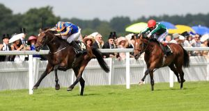 Ryan Moore and  Order Of St George take the Ascot Gold Cup. Photograph: PA