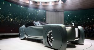 The driverless car will offer bespoke design detailing inside and out for the wealthiest customers