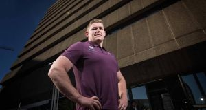 Tadhg Furlong: The 23-year-old will be making his full Test debut against South Africa in the lions' den that is Ellis Park, Johannesburg, and in direct confrontation with Tandai Mtawarira. Photograph: Billy Stickland/Inpho