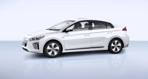 Hyundai's Ioniq: available in three flavours of green - hybrid, plug-in hybrid or full electric