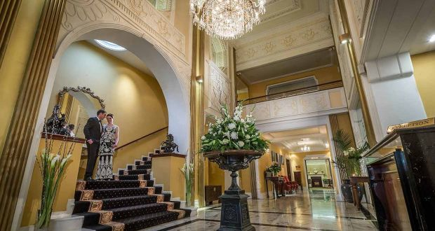 The Lobby Of Imperial Hotel Cork Which Is Celebrating Its 200th Anniversary This