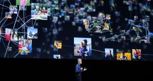 "Apple's head of software engineering, Craig Federighi, giving the keynote address at the Worldwide Developers' Conference: ""We believe you should have great features and great privacy,"" Federighi said.  Photograph: Gabrielle Lurie/AFP/Getty Images"