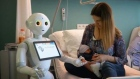 'Pepper' a humanoid robot starts work at Belgian hospital