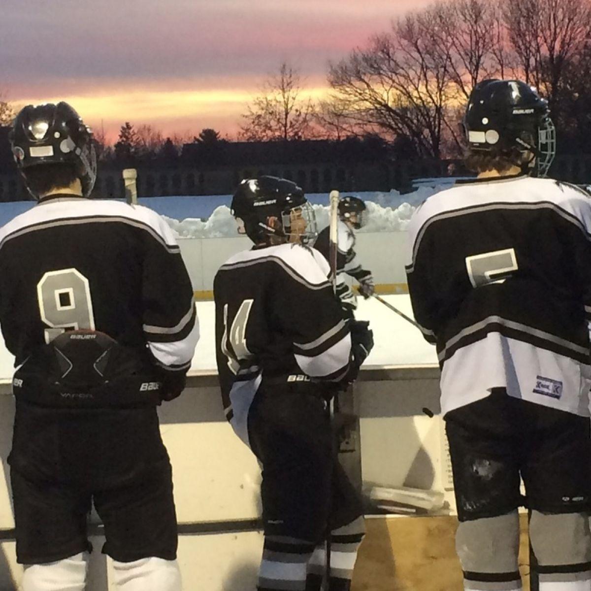 Becoming an Irish 'ice-hockey dad' in Massachusetts