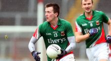 Mayo's Cillian O'Connor: has had little football since returning towards the end of the league. Photograph: Donall Farmer/Inpho