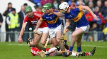Tipperary have a tendency to start slowly in the second half, something highlighted in their victory over Cork in the Munster quarter-final last month. Photograph: Inpho