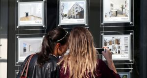 House sellers' asking prices reached a record high of £310,471 on average in June in the UK,  despite uncertainty over the EU referendum, a property website has reported.  Photograph: Press Association