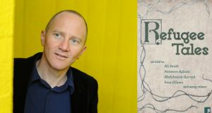 Bestselling author Chris Cleave is one of several well-known writers to have contributed a story about refugees to Refugee Tales, a collection published this week