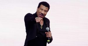 Lionel Ritchie, who is headlining the Punchestown music festival, where Three will have a presence, on July 23rd. Photograph: Photograph: Paul Bergen/EPA
