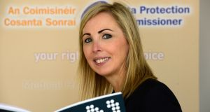 Data Protection Commissioner Helen Dixon published her annual report on Tuesday. Photograph: Cyril Byrne/The Irish Times