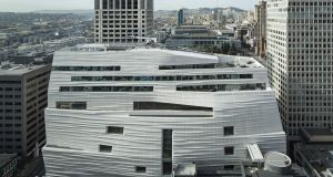 Exterior of the new San Francisco Museum of Modern Art. Photograph: Henrik Kam/courtesy SFMOMA