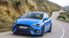 Track test: Ford Focus RS hot laps at Mondello racetrack
