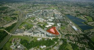 New owners of the Sandyford site are expected to seek planning permission for a seven or eight-storey office development of between 23,226 and 27,871sq m (250,000 and 300,000sq ft)