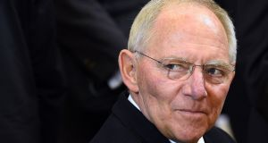 "German finance minister Wolfgang Schauble: ""Even if a majority decide to stay we cannot continue as before otherwise people will say 'you've not understood'."" Photograph: Emmanuel Dunand/AFP/Getty Images"